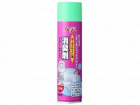 消臭剤フォームタイプ