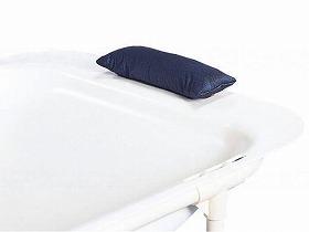 在宅簡易浴槽'湯った〜り'用 安心枕