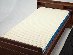 洗えるベッドパット(綿ポリ)