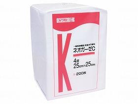 ネオガーゼC 25cmX25cm 4折