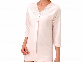 婦人(おしゃれタイプ)ワンタッチ7分袖シャツ