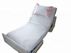 新快適介護シーツ(枕ホルダー付)