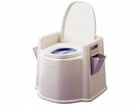 テイコブ ポータブルトイレ(肘掛け付)PT02