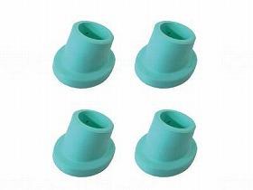 シャワーチェアー楽湯ST用 ゴムキャップ(4個)