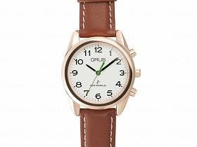 ボイス電波腕時計