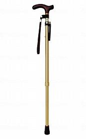 カラーステッキ 10段階調整 杖ピタ付