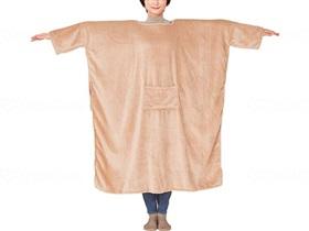 肩まであったか私のこたつ毛布