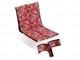 車いす用和柄シート 花がすみシート P−01