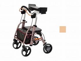 抑速ブレーキ付前腕支持型歩行車 コンパルリハモ