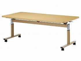 T字脚昇降式テーブル TRタイプ 角型  180×75(cm)