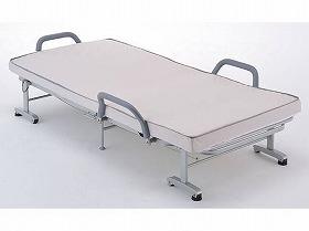 収納式リクライニングベッド  AX-BG542