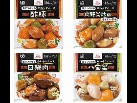エバースマイル ムース食 中華4種セット