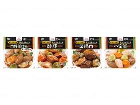 エバースマイルムース食 中華4種セット