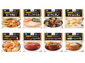 エバースマイルムース食 洋食8種セット