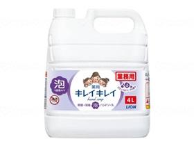 キレイキレイ薬用泡ハンドソープ フローラルソープ 4L