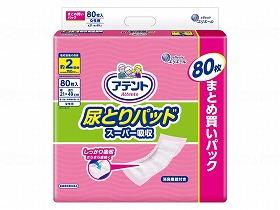 T 尿とりパッドスーパー吸収女性用80枚