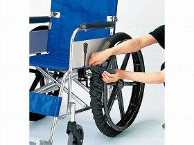 車いす車輪カバー(2本1組)