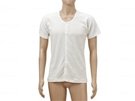 TioTio前開き半袖(ラグラン袖)紳士用