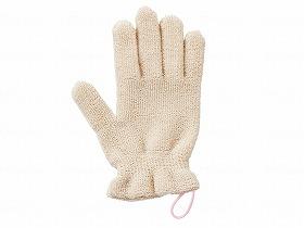 浴用オーガニックコットン手袋