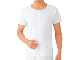 グンゼ半袖ボタン付シャツ