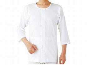 紳士ワンタッチ7分袖シャツ2枚組