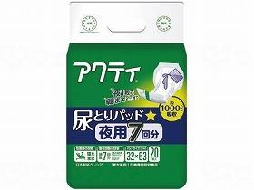 Tアクティ尿とりパッド 夜用7回分吸収