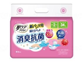 パンツ用尿とりパッド消臭抗菌プラス2回分吸収 ケース販売