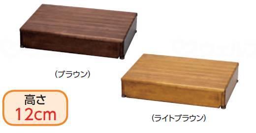 木製玄関台 60W-40-1段の画像