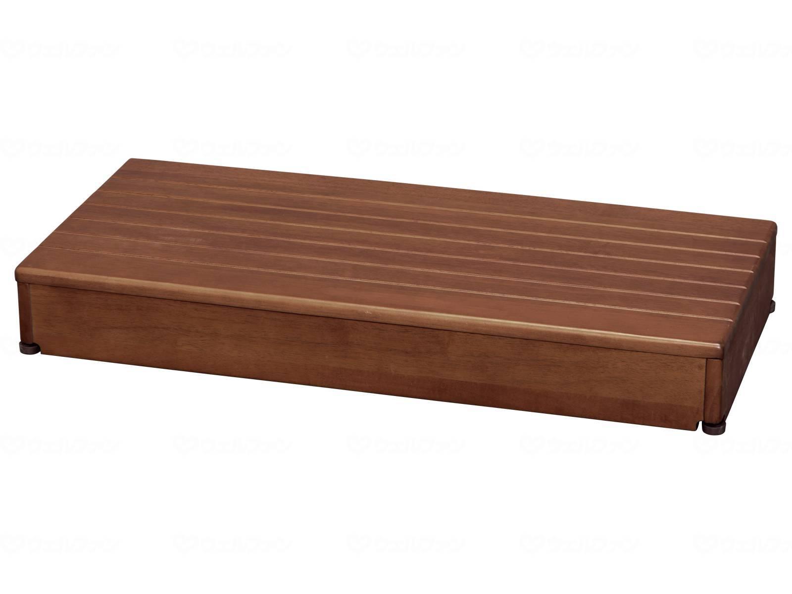 木製玄関台 90W-40-1段
