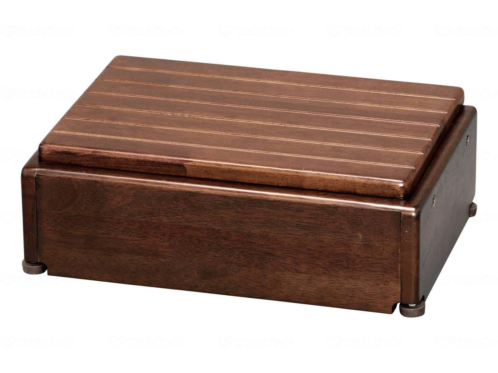 木製玄関台 S45W-30-1段