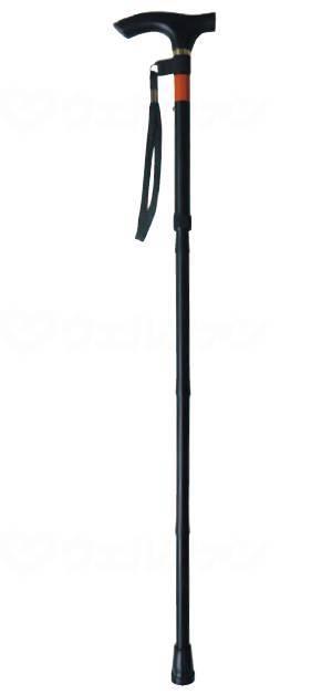 ピッチ付折りたたみ式杖 E−248