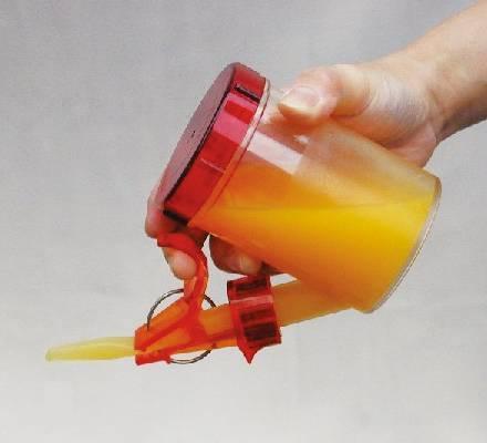 らくらくゴックン スープ・お茶用(水量調節器付)の画像