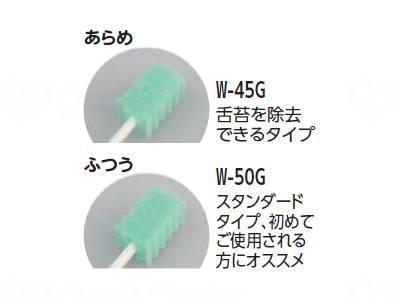 口腔ケアスポンジ 波型の画像