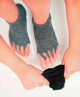 指ぬき健康ソックスの画像