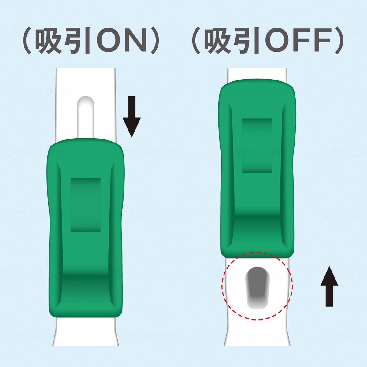 マウスピュア吸引歯ブラシ(1本)の画像