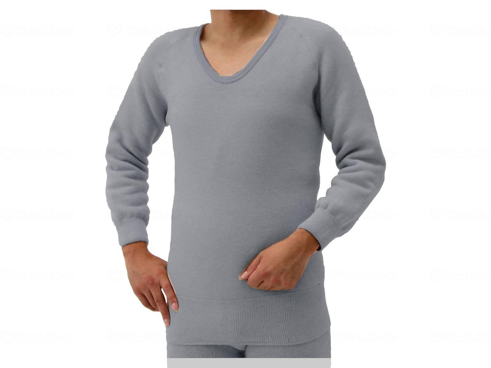 もちはだ(極厚地)長袖シャツ(紳士用)Mサイズ