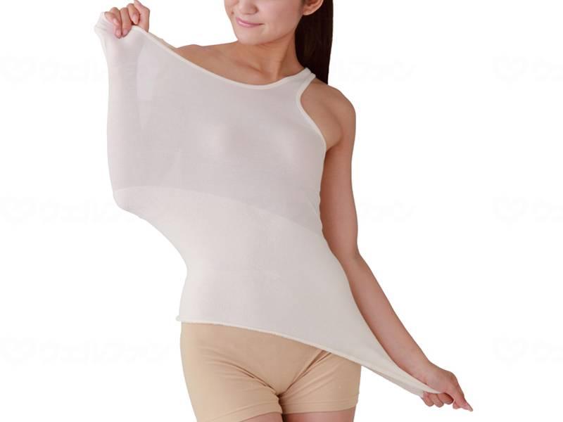 着る腹巻の画像