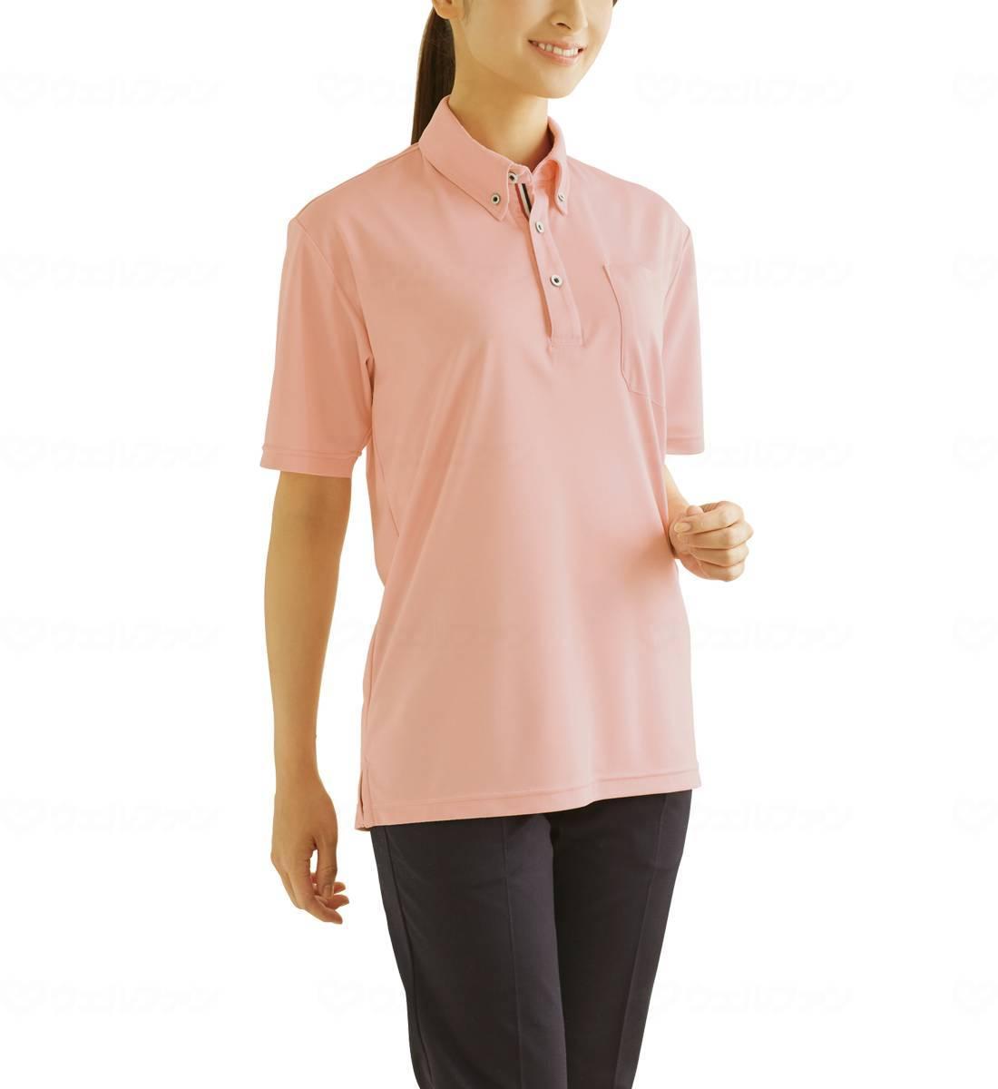 WHISEL 半袖BDポロシャツ WH90418の画像