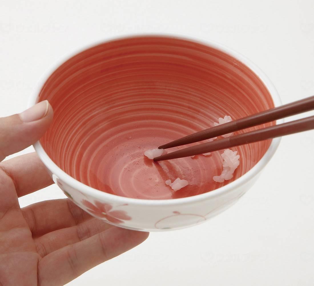 おかるのキモチ 六兵衛茶碗 内赤巻の画像