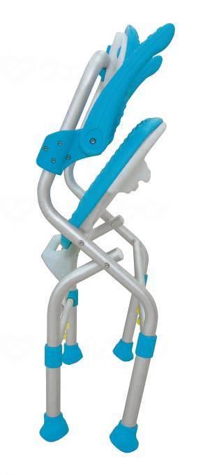 折りたたみシャワーチェア テイコブSC01(肘掛け付)の画像