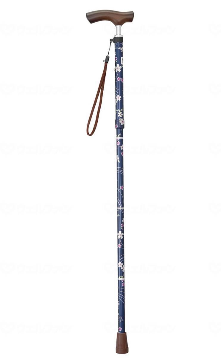 テイコブ折りたたみ式ステッキ(首細) EON12