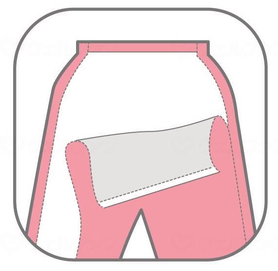 簡単着替えパジャマ 婦人用の画像