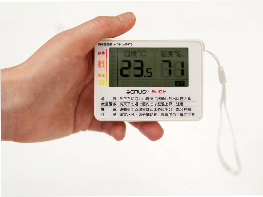 GRUS ポータブル熱中症計の画像