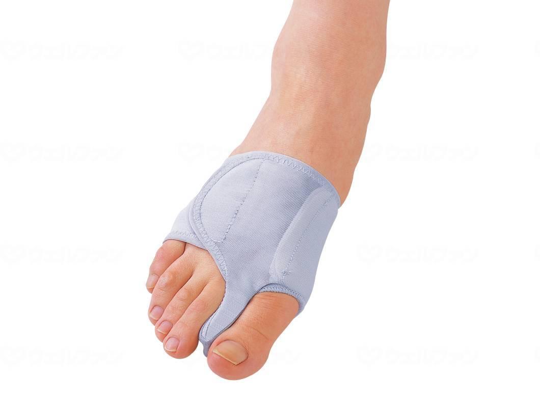 ソルボ外反母趾サポーター 固定型薄型メッシュタイプの画像