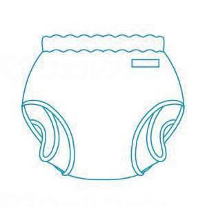 パンツ型おむつカバーの画像