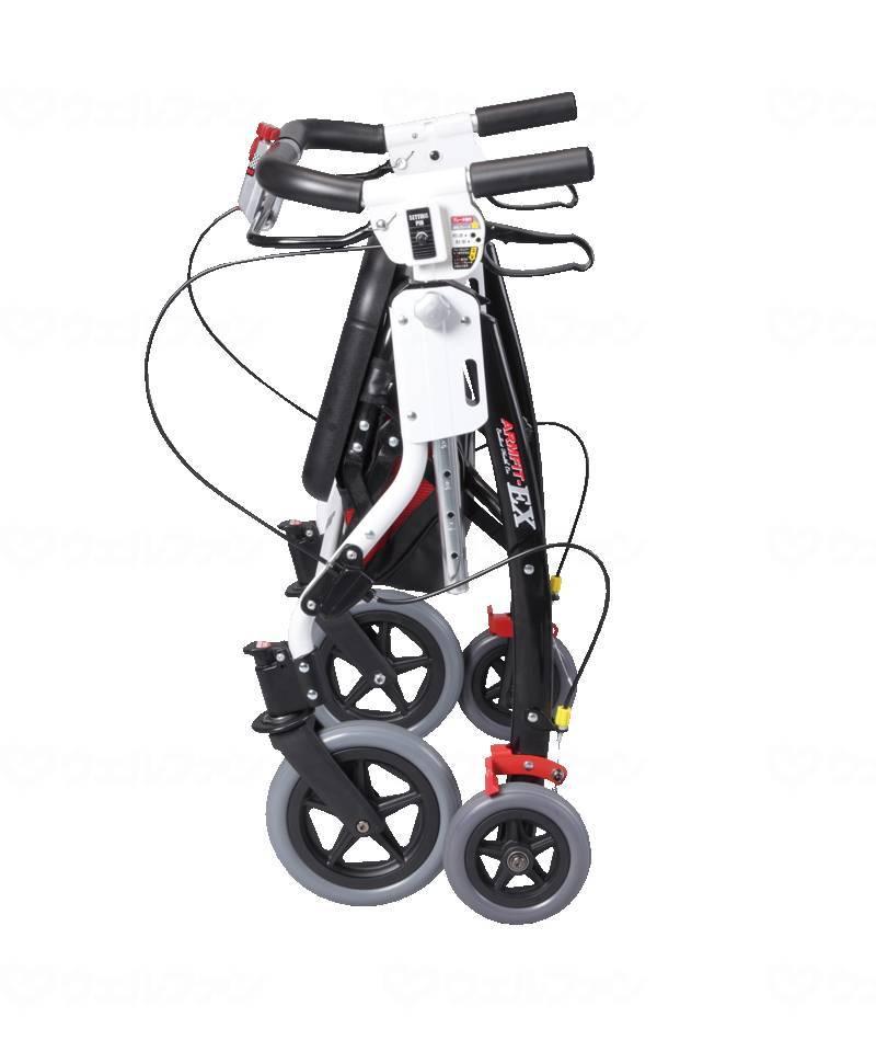 アームフィットEX 室内外兼用歩行車 肘置き付きの画像