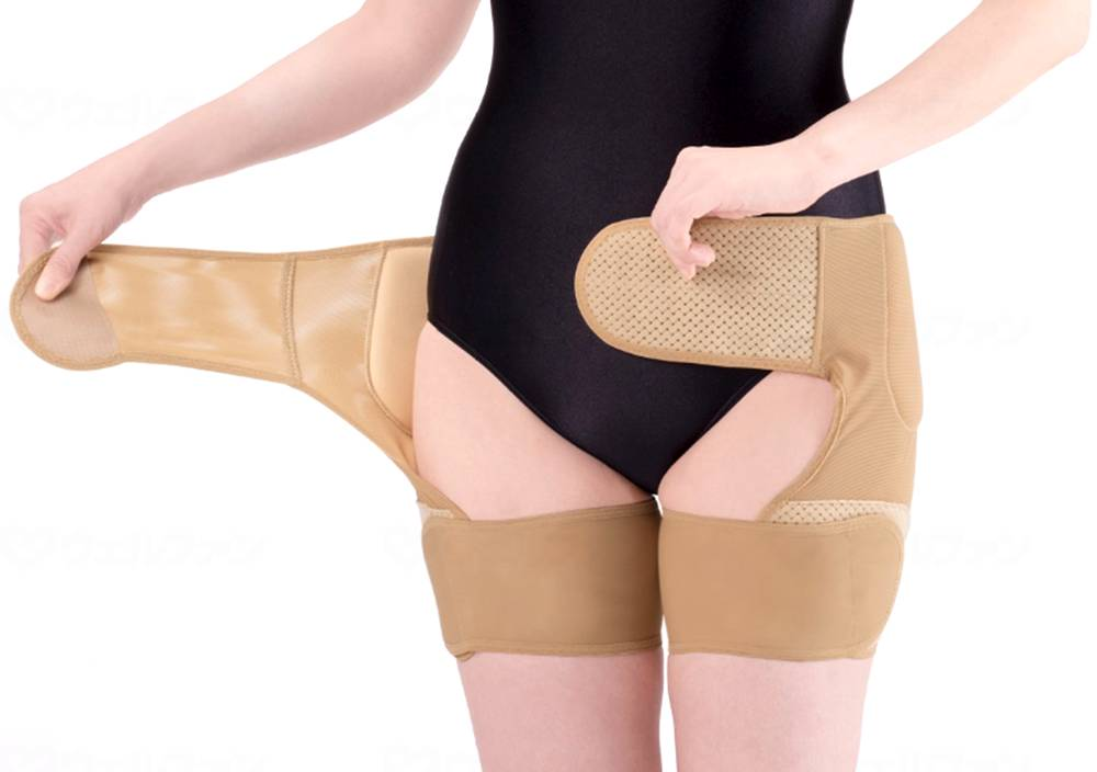 接骨院の先生が監修した股関節ベルト(両足用の画像