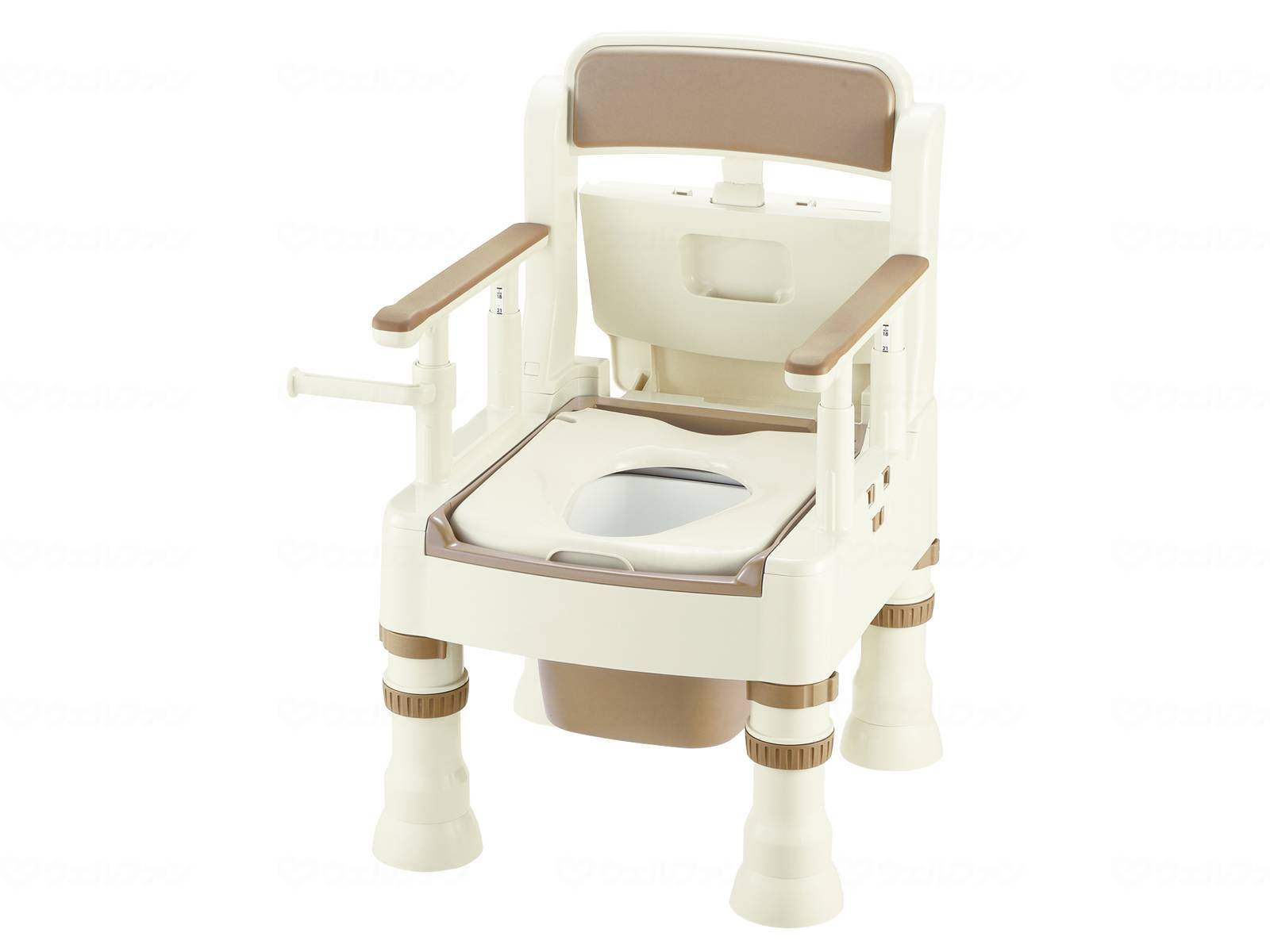 ポータブルトイレきらくMS型(標準便座)の画像