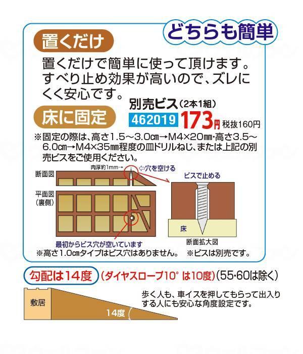 ダイヤスロープ  100cm幅(DS 100)100-40の画像