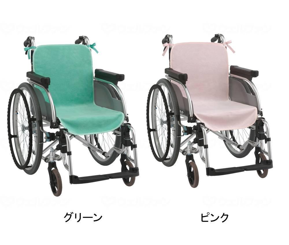 車椅子シートカバー(2枚入)の画像